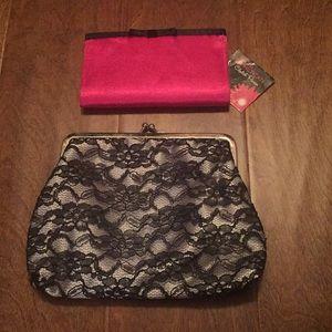 Handbags - 2 clutches